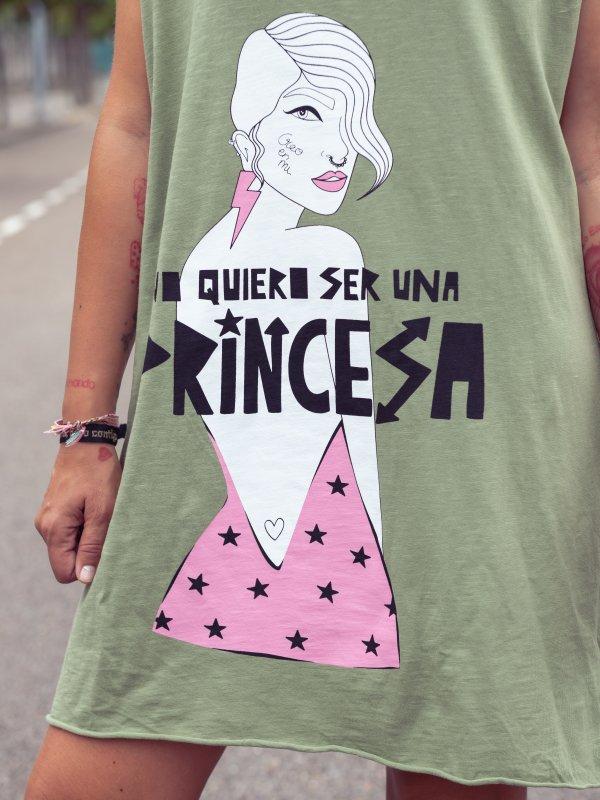 """VESTIDO TÚNICA """"PRINCESA""""..."""