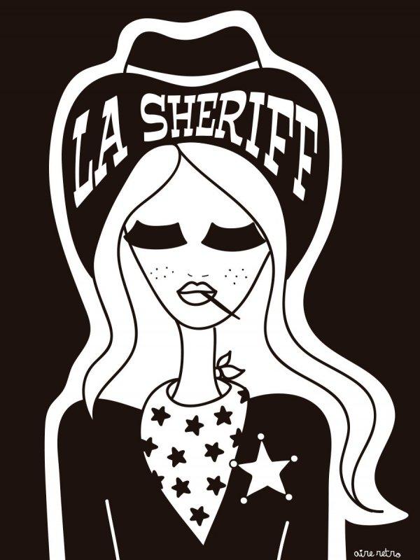 LÁMINA LA SHERIFF