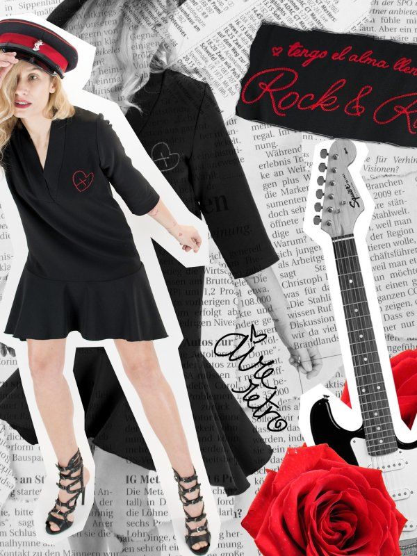 VESTIDO ALMA DE ROCK AND ROLL