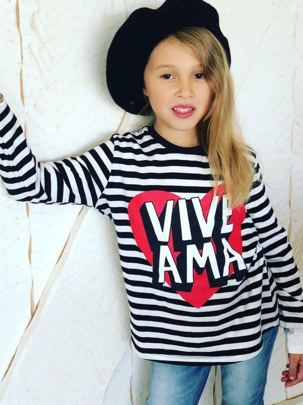 "CAMI BABY ""VIVE · AMA""  M/L"