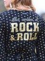 """VESTIDO """"ELLA AMABA EL ROCK & ROLL"""" ESTRELLITAS"""