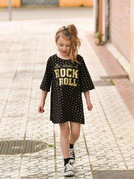 """VESTIDIN BABY """"ELLA AMABA EL ROCK & ROLL"""" ESTRELLITAS"""