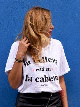 """CAMI BLANCA """"LA BELLEZA"""" TALLA ÚNICA"""