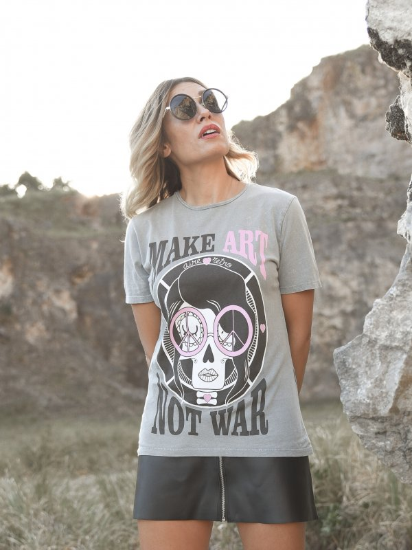 CAMI UNISEX ''MAKE ART''