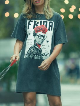 "VESTIDO ""FRIDA INFLUENCER"" FADE OUT"