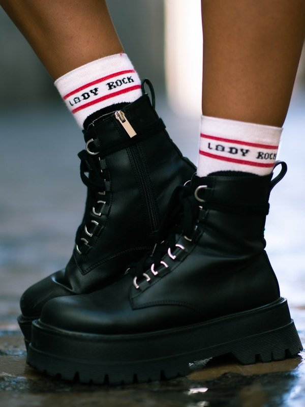 CALCETINES ''LADY ROCK''
