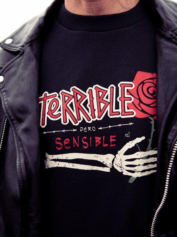 "SUDADERA UNISEX ""TERRIBLE""..."
